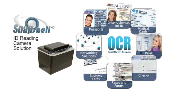 SnapShell R2 Drivers License Scanner & IDScan OCR software