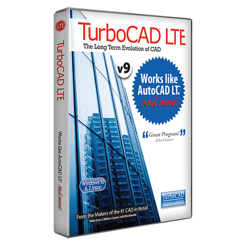 Turbocad Lte Standard V9 Cad Software Works Like Autocad