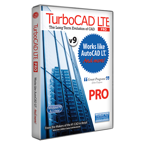 Turbocad Lte V9 Pro Works Like Autocad Lt Download Ebay